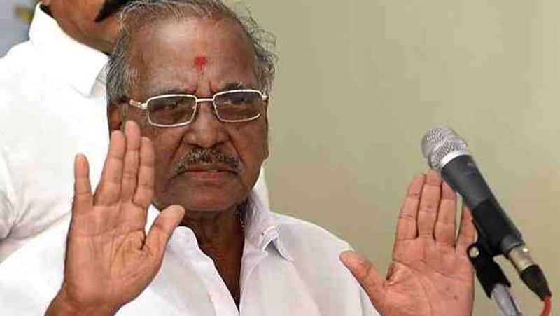 aiadmk senior leader madhusudhanan critical condition