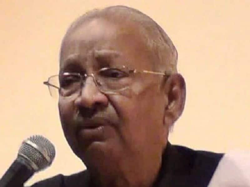 Arivalaya Ottuthinnai resident K. Veeramani .. who mastered Dravidian movements  P. Maniyarasan