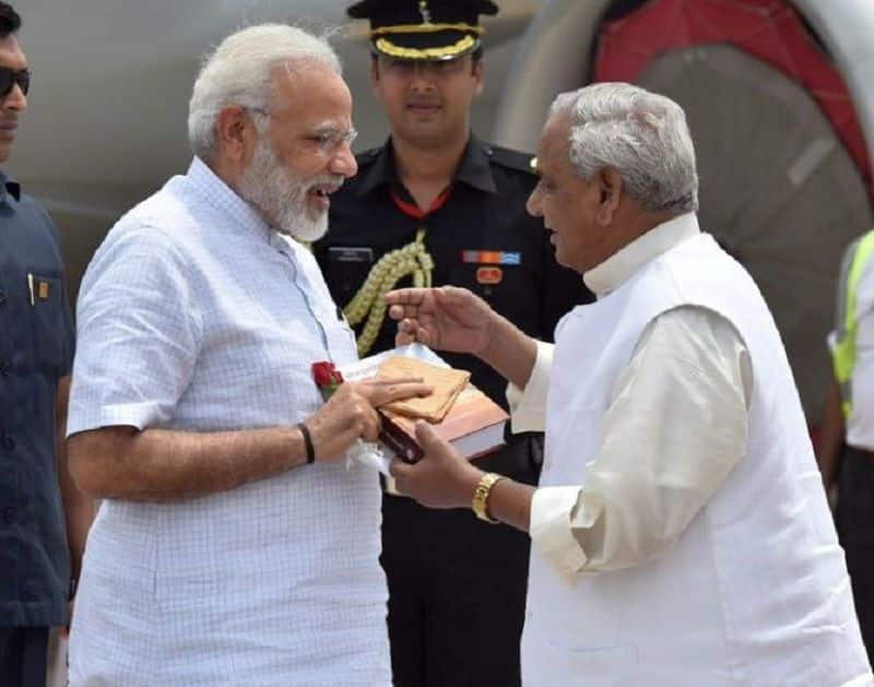 President forwarded letter to home ministry on violation of code of conduct by the Kalyan Singh