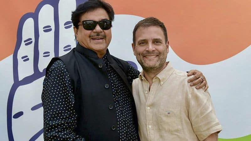 Rebel BJP MP Shatrughan Sinha join congress today and get ticket from Patna sahib