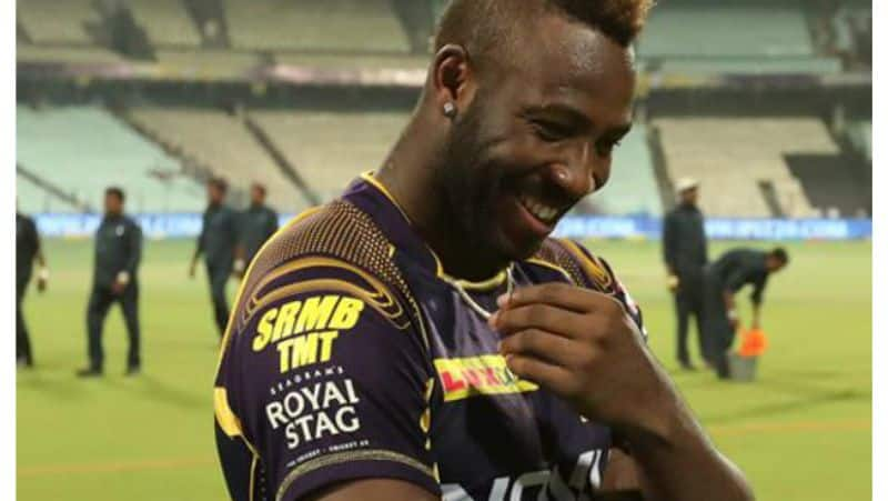 kkr decides to send russell up of the batting order