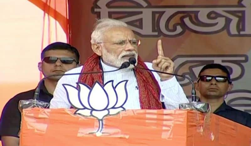 Election 2019: Mamata Banerjee is a speed breaker in West Bengal's development  says PM Modi