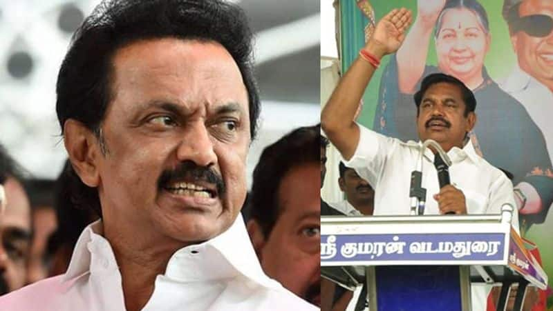 CM Palanisamy raise questions against M.K.Stalin on mla disqualification issue