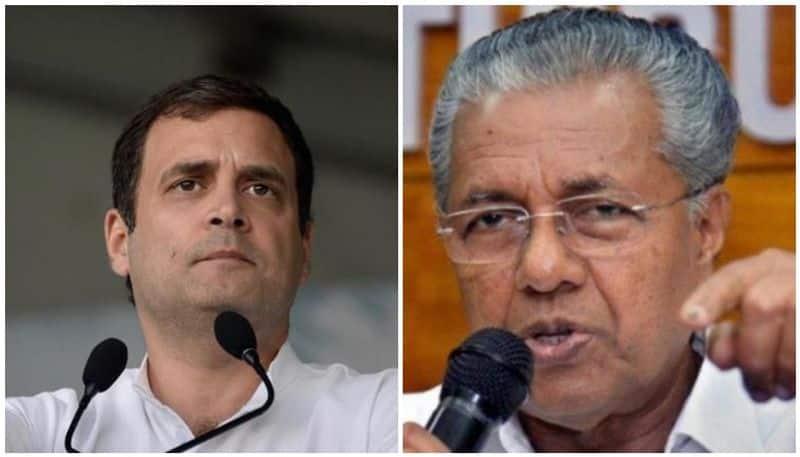 Kerala Rahul Gandhi writes Kerala CM over farmer death seeks financial assistance