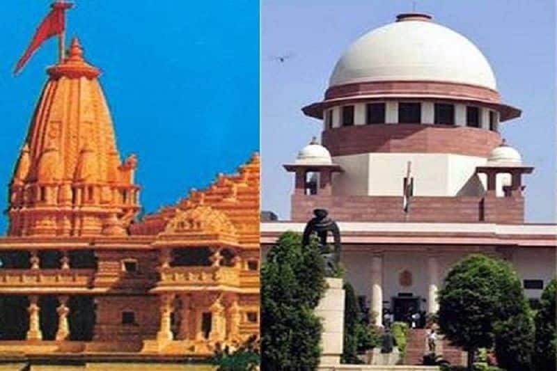 There was an appeal to once again start mediation to resolve the Ram temple dispute in Ayodhya.