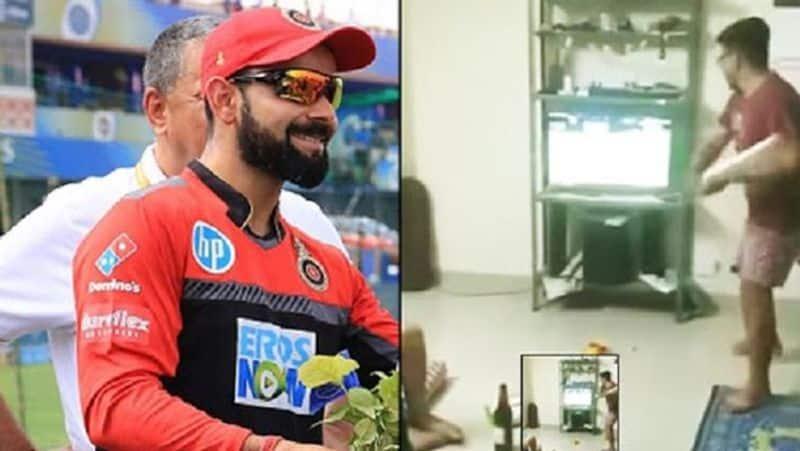 IPL 2019 Cricket fan broken tv after RCB consecutive loss