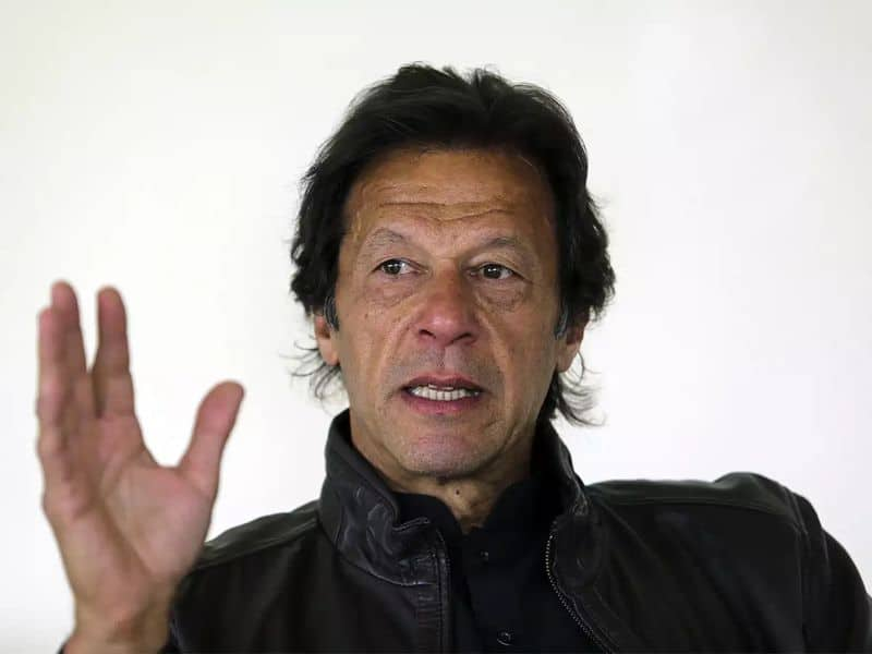 Pakistan pm Imran khan rakes controversy says bjp better suited to improve ties