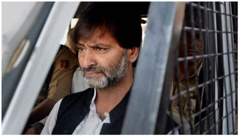 Separatist Yasin Malik sent to judicial custody till April 24