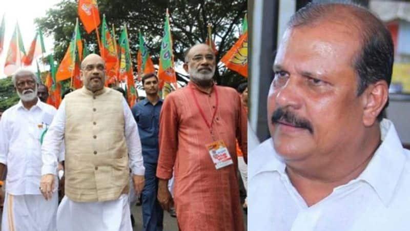 Kerala Janapaksham PC George joins NDA impressed Narendra Modi work agricultural sector