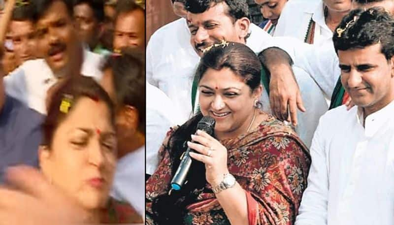 Watch Here's why Khushbu slapped a man during Congress rally