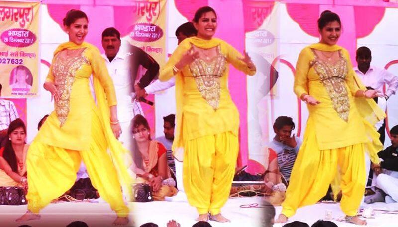 Sapna choudhary latest dance performance video banduk chalegi gets viral