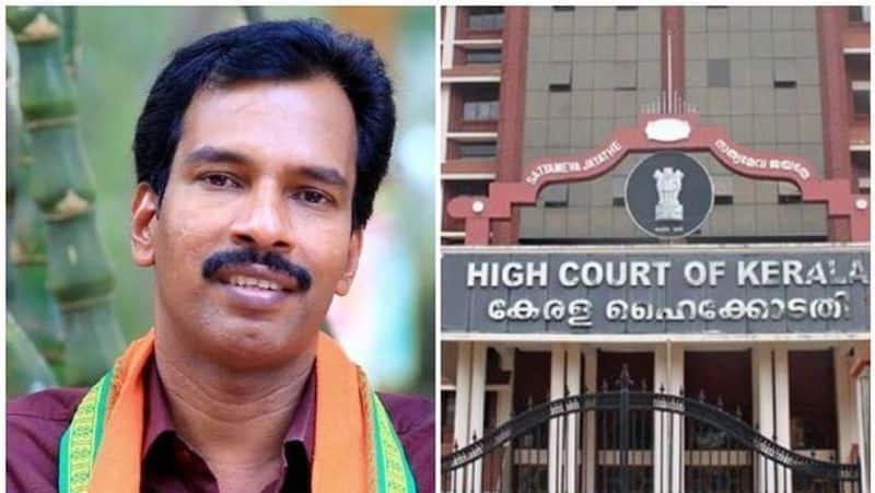 Kerala high court grants conditional bail Kozhikode NDA candidate Prakash Babu