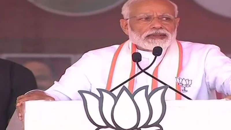 PM Modi strong presence in south India politics visuals of south Bengaluru rally and road show of narendra modi