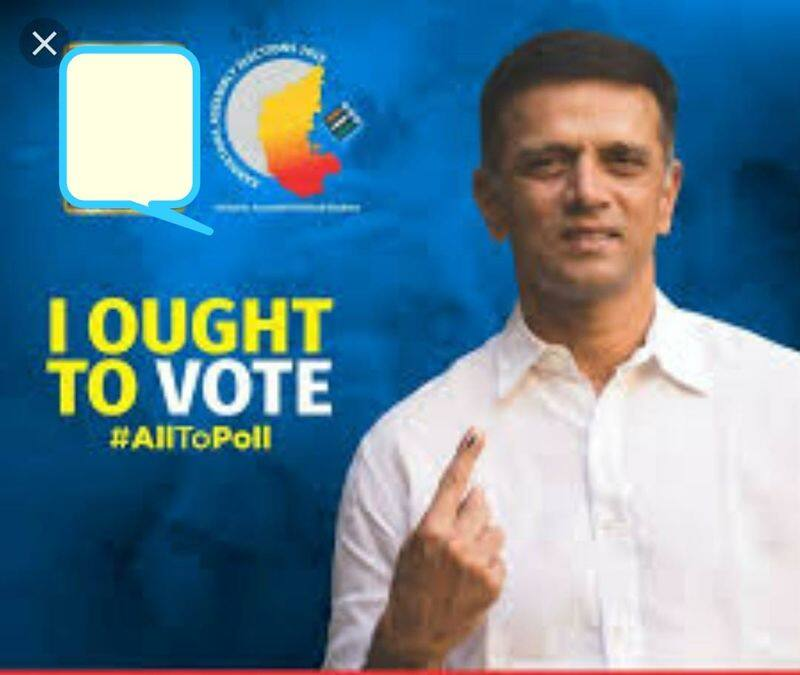 Election ambassador Rahul dravid cannot vote this time here is the reason
