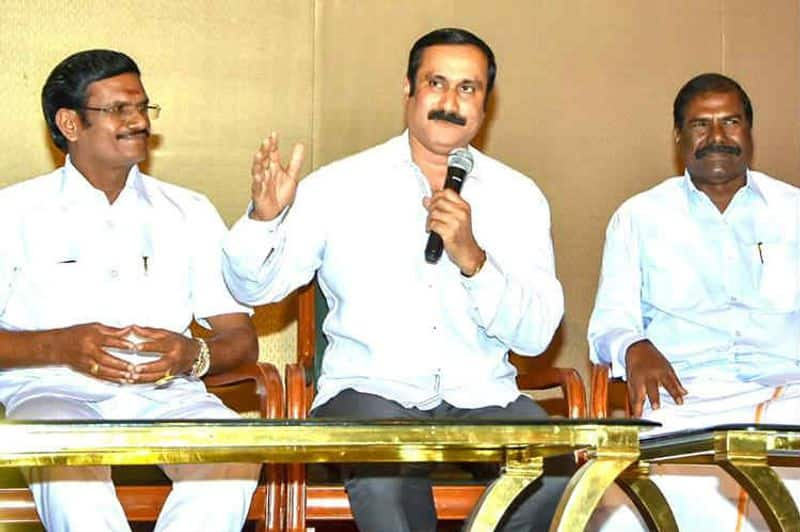 Ramadoss apologizes to me ... the DMK compassion ..!