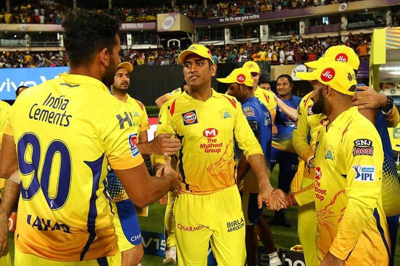 IPL 2019 CSK won the toss and elected to field  first against SRH