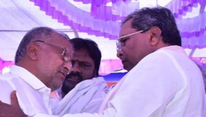 Siddaramaiah and GT Deve Gowda United For Coalition Govt
