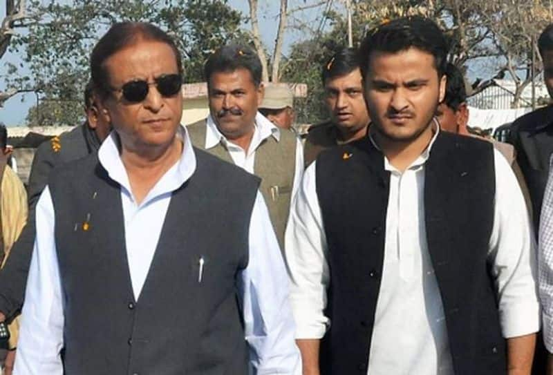 Election 2019 Azam Khan son gives communal colour to EC order banning his father from campaigning