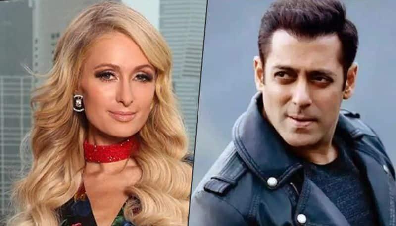 Paris Hilton has an epic reaction to Salman Khan's young look for Bharat