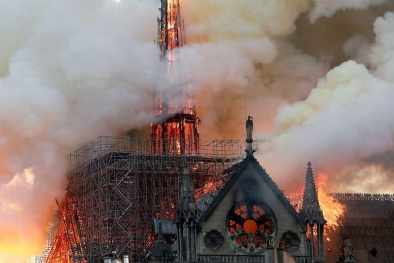 European fashion houses join forces to rebuild Notre-Dame Cathedral