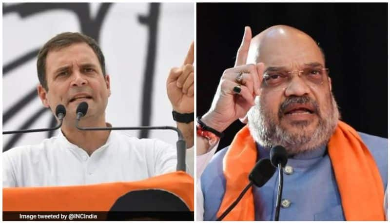 Amit Shah trends Steal Like Raga on Twitter to question Rahul Gandhi properties abroad