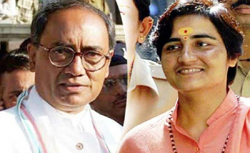 What is real meaning of sadhvi pragya and digvijay singh electoral fight in Bhopal
