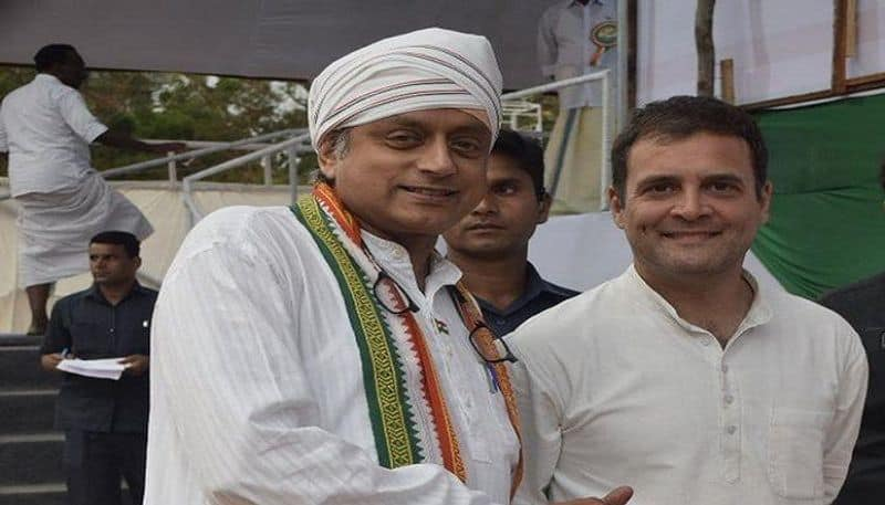 Rahul Gandhi Praise Shashi Tharoor For Campaigns Day After Injury