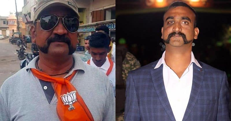 Viral Check Is that really a picture of Wing Commander Abhinandan Varthaman voting for the BJP