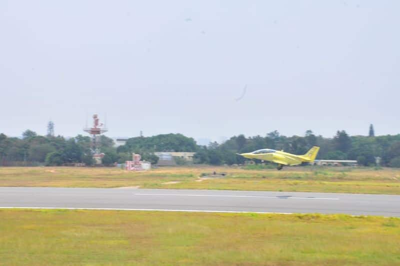 HAL re-commences flight testing of modified intermediate jet trainer HJT 36