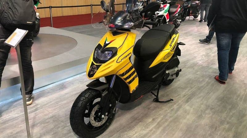 Aprilia Storm 125 cc automatic scooter launched in India