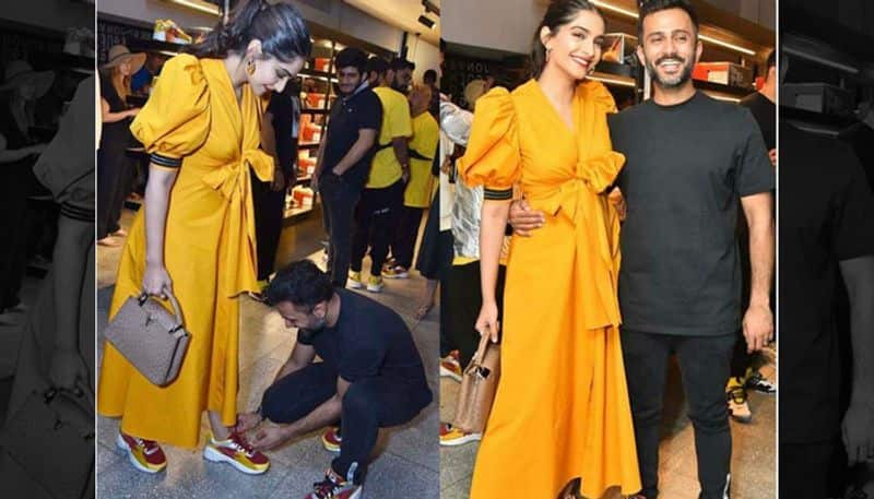Anand Ahuja went down on his knees, Internet declares Sonam Kapoor pregnant