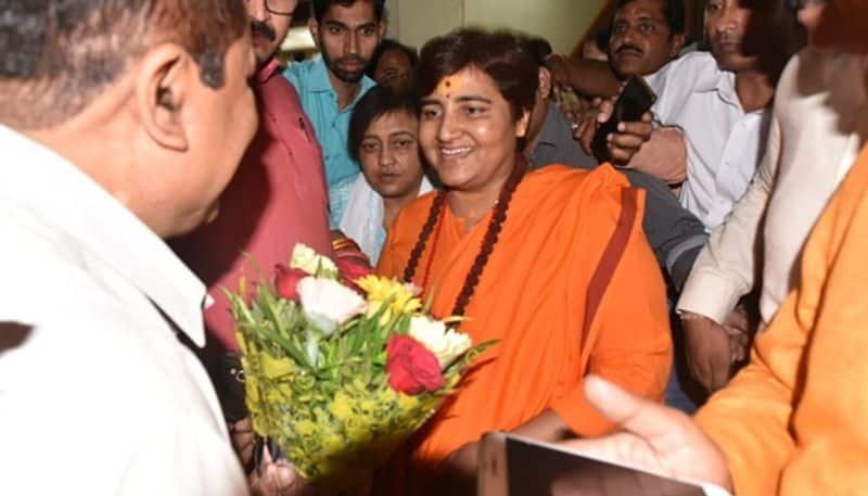 BJP fields Sadhvi Pragya Bhopal moral equivocation Congress