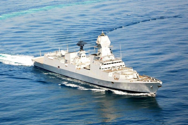 2 Indian Navy ships to participate in Chinese Naval parade
