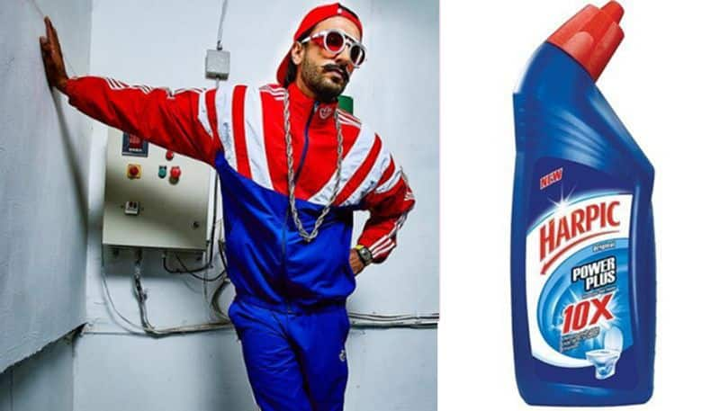 Ranveer Singh thinks he's a toilet cleaner Internet agrees
