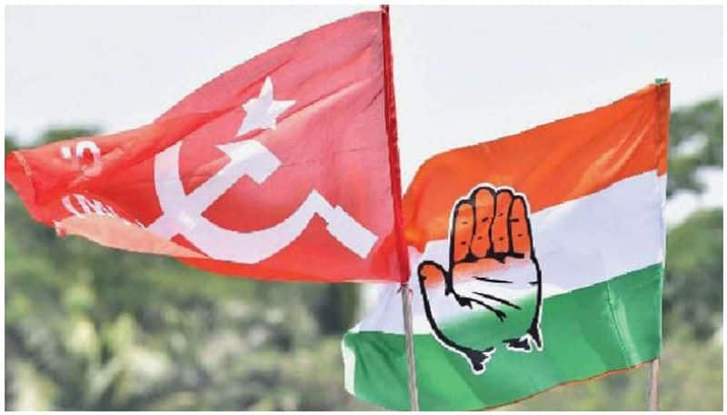 Congress Booth agent thrashed by CPM leader: UDF Activists Protest