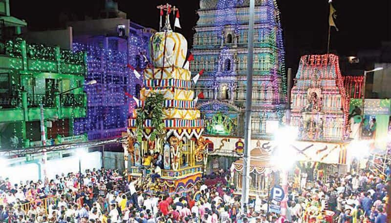 Bengaluru People celebrated Karaga Utsav