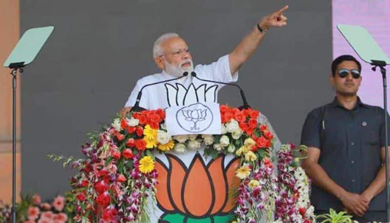 Modi will not become next time says congress leader Veerappa Moily