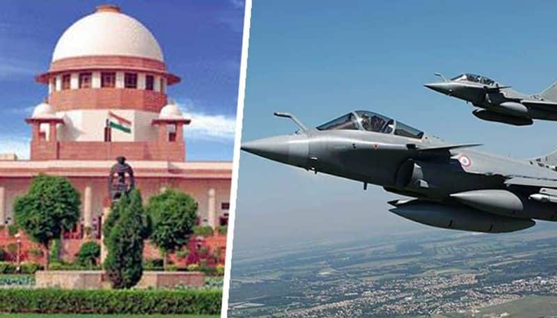 Government of india filed reply in Rafale review case