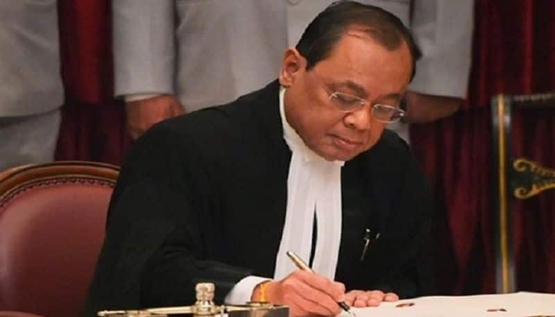Who is conspiring to stop cji ranjan gogoi from hearing these four cases