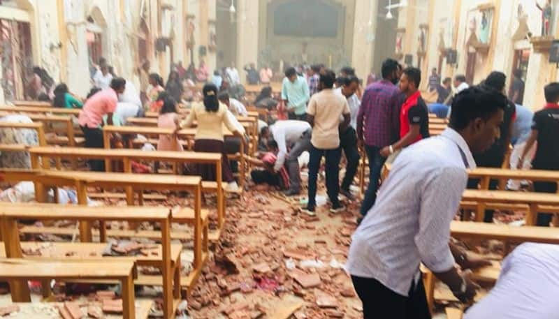 An explosion hits church in Sri Lanka s a capital on Easter Sunday