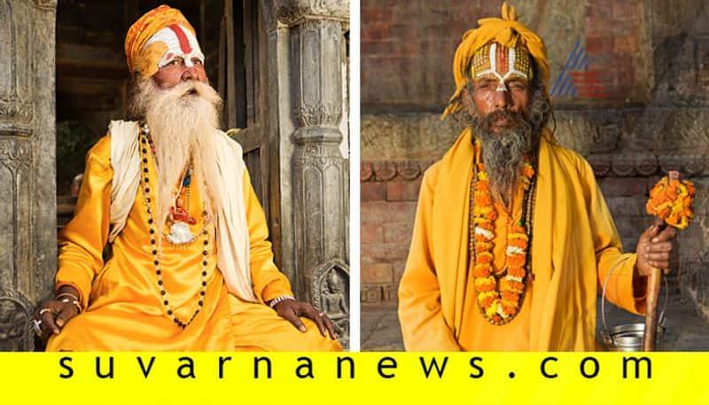 Why do Indian saints wear saffron colour cloths