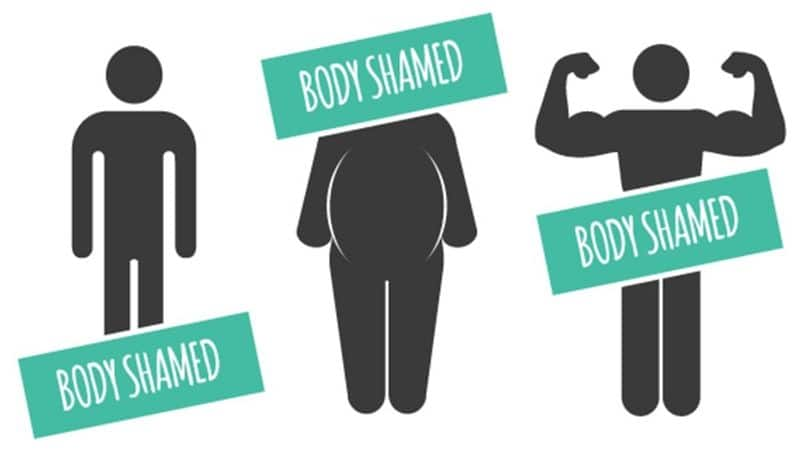 Too fat or too dark or too thin women recognise when you body-shame them