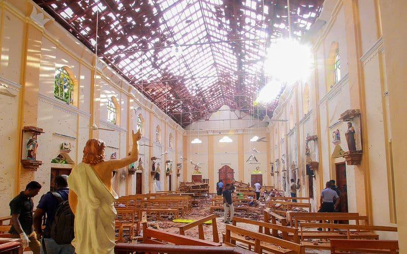 Sri Lanka blasts Five arrested Colombo suspected links National Thowheed Jamaath