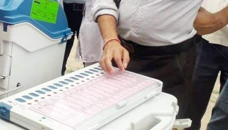 Re-polling in five polling stations in Assam on April 24