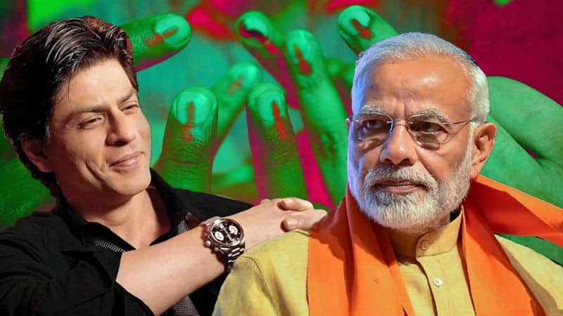 Shahrukh khan responds to PM modi appeal for participation in voting