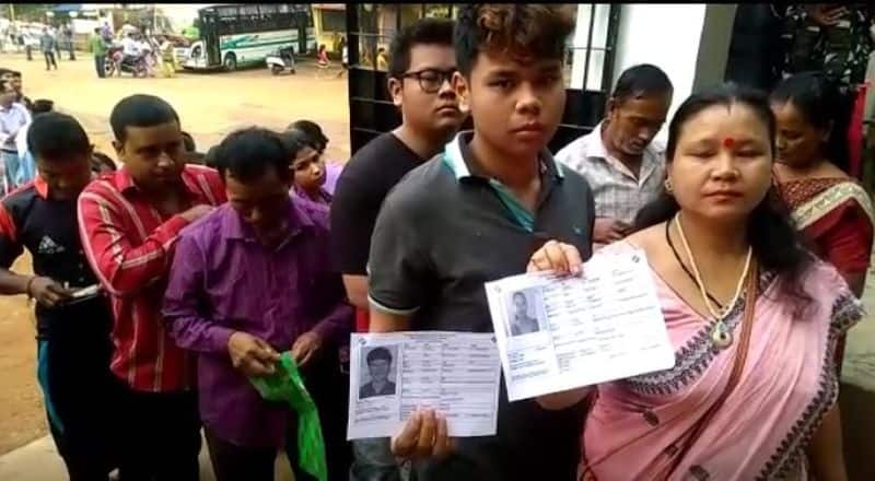 Elections 2019 Huge enthusiasm among voters as polling for 3rd phase begins in Assam Tripura