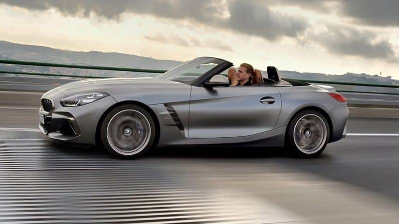 BMW launches New z4 roadster car with sports features
