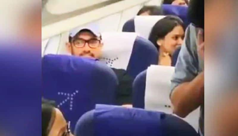 Aamir Khan travels in economy class; leaves fans surprised!