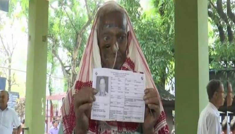 68 year old cancer patient casts vote in Assam