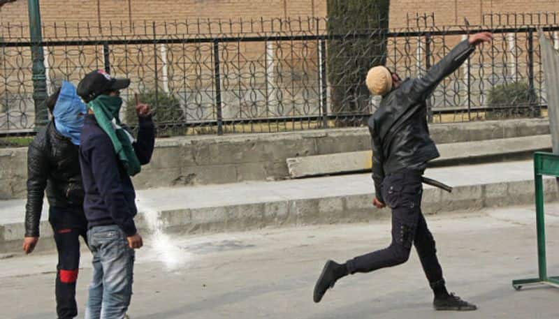 Stone pelters rear their ugly heads again leaving one dead and 20 injured in Jammu